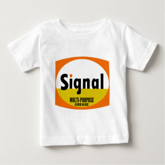 Signal Multi-purpose Grease vintage sign flat Baby T-Shirt
