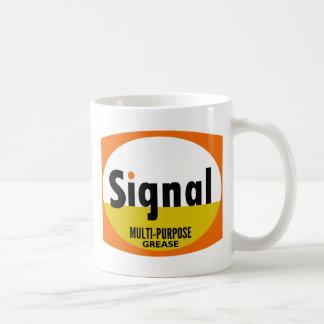 Signal Multi-purpose Grease vintage sign flat Coffee Mug