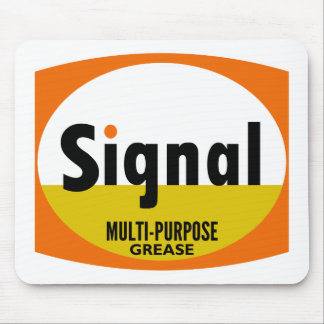 Signal Multi-purpose Grease vintage sign flat Mouse Pad