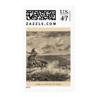 Signal of discovery or alarm postage