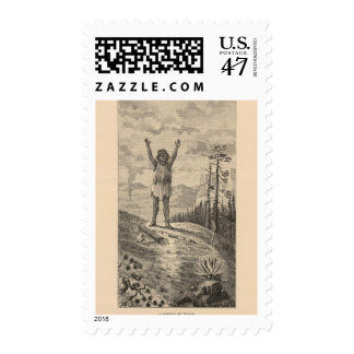 Signal of peace postage