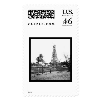 Signal Tower in Jacksonville FL 1865 Stamp