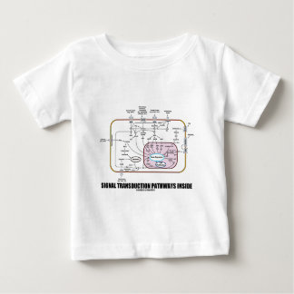 Signal Transduction Pathways Inside (Cell Biology) Baby T-Shirt
