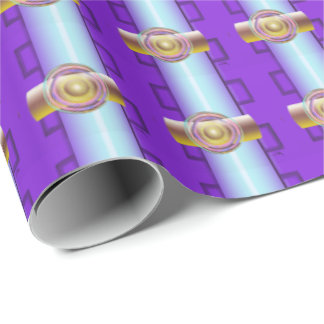 Signal Transmission Wrapping Paper