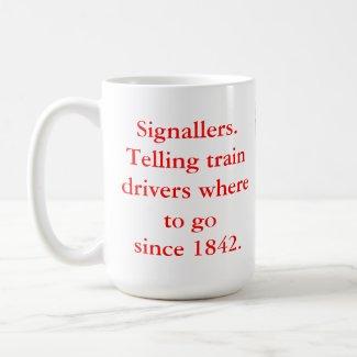 Signallers' Large Mugs mug