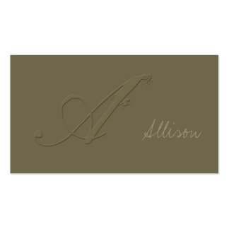 Signature A Business Cards