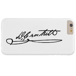 Signature Autograph of Davy Crockett Barely There iPhone 6 Plus Case