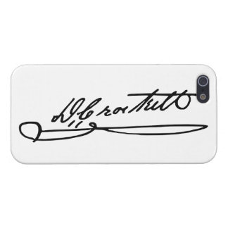 Signature Autograph of Davy Crockett iPhone 5 Covers