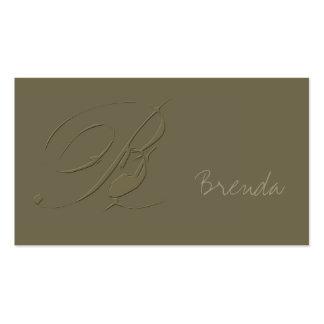 Signature B Business Cards