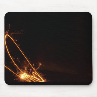 Signature Fire Mouse Pad