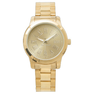 Signature Gold Wristwatch