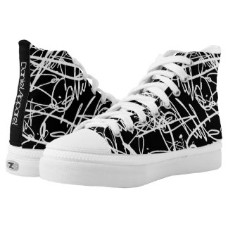 Signature High-Top Sneakers