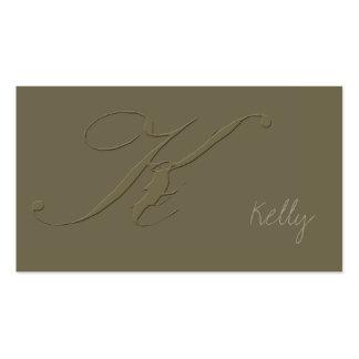 Signature K Business Card