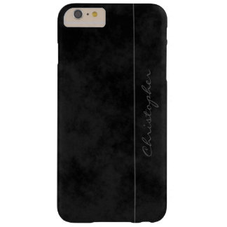 * Signature Mottled Black Handsome Barely There iPhone 6 Plus Case