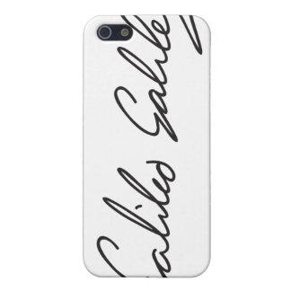 Signature of Astronomer Galileo Galilei Case For iPhone 5