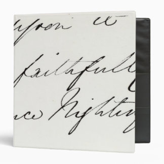Signature of Florence Nightingale Binder
