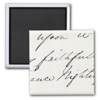 Signature of Florence Nightingale Magnet