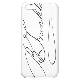 Signature of Founding Father Benjamin Franklin Cover For iPhone 5C