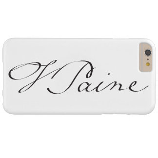 Signature of Founding Father Thomas Paine Barely There iPhone 6 Plus Case