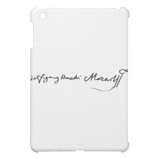 Signature of Musician Wolfgang Amadeus Mozart iPad Mini Cover