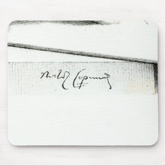 Signature of Nicolaus Copernicus Mouse Pad