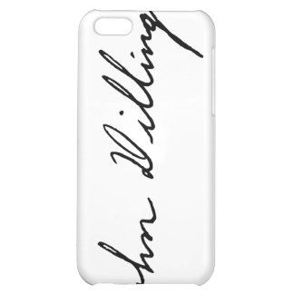 Signature of Notorious Outlaw John Dillinger iPhone 5C Cases