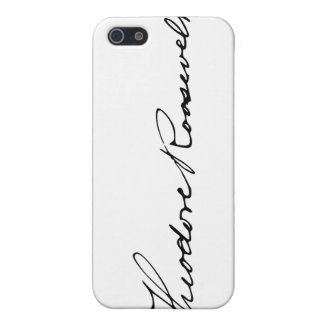Signature of President Theodore Roosevelt Cases For iPhone 5