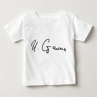 Signature of Soviet Union Premier Joseph Stalin Baby T-Shirt