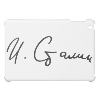 Signature of Soviet Union Premier Joseph Stalin iPad Mini Case