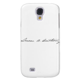 Signature of Suffragette Susan B. Anthony Samsung Galaxy S4 Case