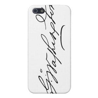 Signature of U.S. President George Washington Covers For iPhone 5