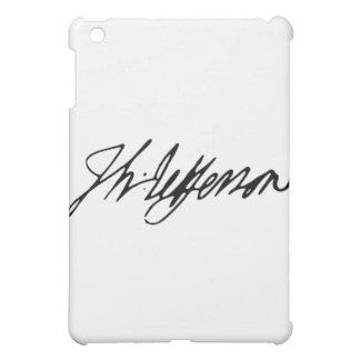 Signature of U.S. President Thomas Jefferson iPad Mini Covers