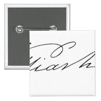 Signature of William IV, 1831 2 Inch Square Button