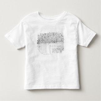 Signature of William Shakespeare , 1616 Toddler T-shirt