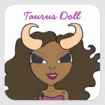Signature Taurus Doll Stickers