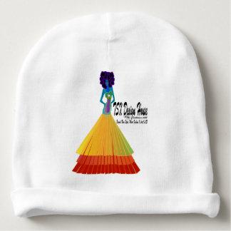 Signature White Infant Baby Hat w/Logo