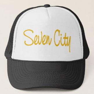 Signature - Yellow (on Black) Trucker Hat