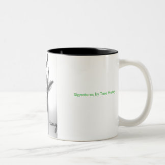 'Signatures' Mug by Tara Henry