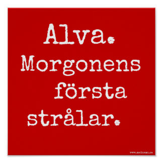 Signboard - Alva Posters