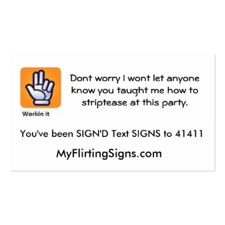 SIGND Card Business Card