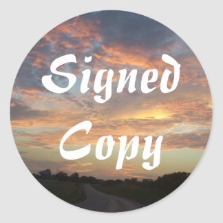 Signed Copy - Round Stickers (#50)