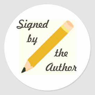 Signed Copy - Round Stickers (#54)