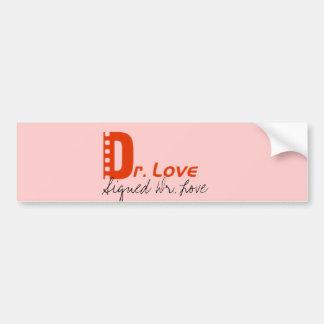 Signed Dr. Love Bumper Sticker