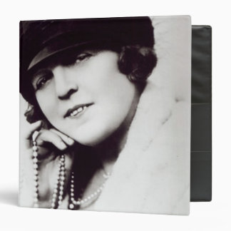 Signed photograph of Marie Lloyd 3 Ring Binder