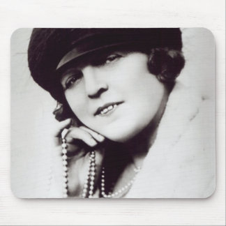 Signed photograph of Marie Lloyd Mouse Pad