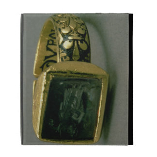 Signet ring of King Louis IX of France (St. Louis) iPad Folio Cases