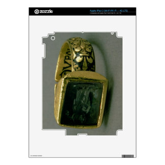 Signet ring of King Louis IX of France (St. Louis) Skin For iPad 3
