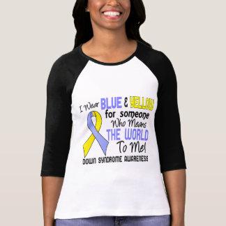 Significa el mundo a mí 2 Síndrome de Down Camisetas