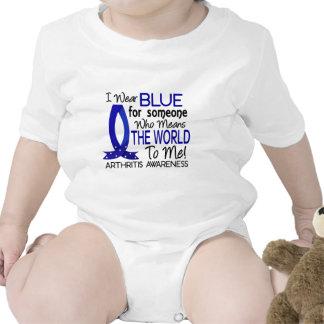 Significa el mundo a mí artritis trajes de bebé