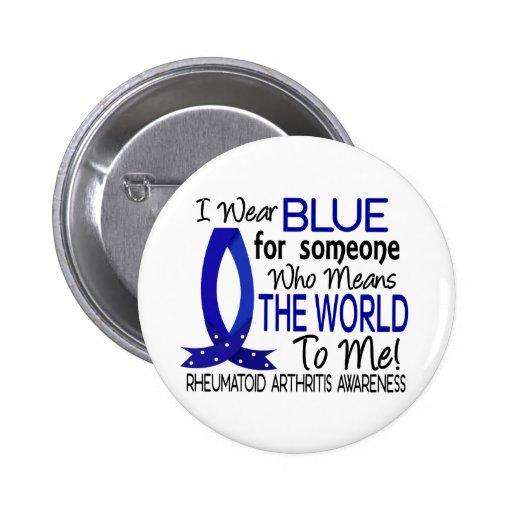 Significa el mundo a mí artritis reumatoide pin